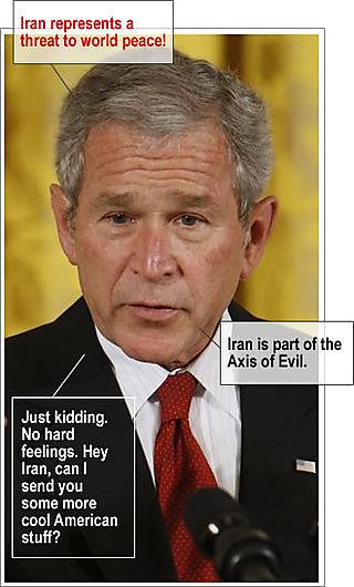 Bush Iran